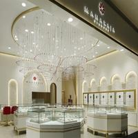 Customized high end jewelry shop furniture for jewelry display